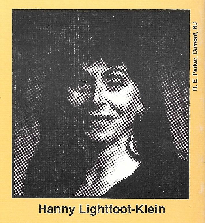 Hanny Lightfoot-Klein Photo